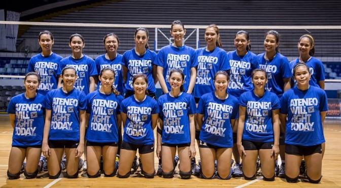 ] Ateneo Wins Against La Salle On UAAP Season 76 Women's Volleyball