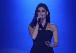 Anne Curtis Performs Let It Go At Cherry Mobile 2014 Dealers' Night