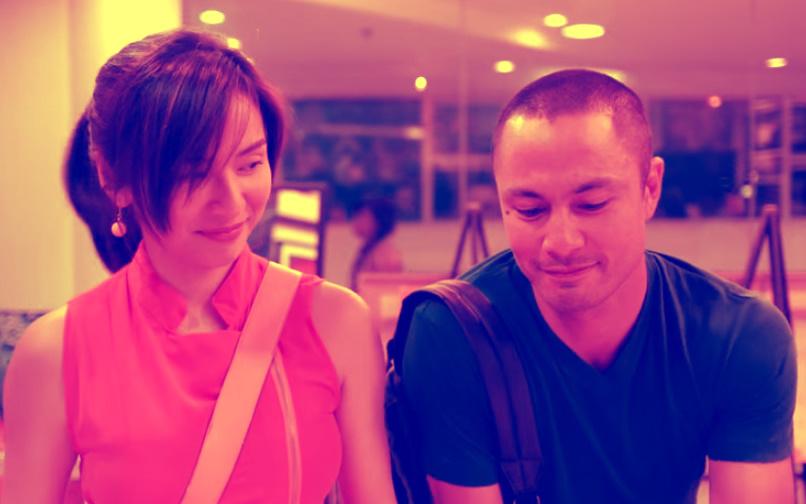 Derek Ramsay and Jennylyn Mercado