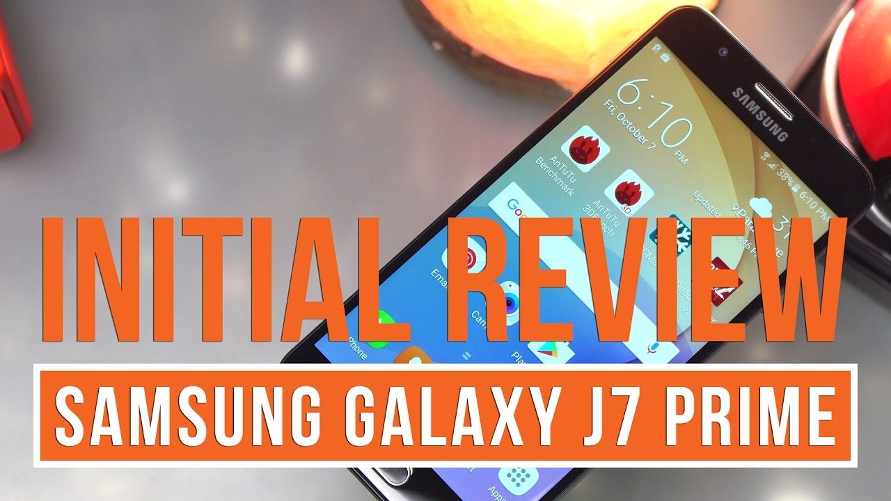 Unbox Reviews Samsung Galaxy J7 Prime  Enchoscom